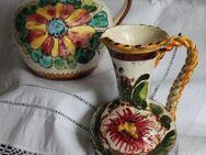 2 dekorative Vasen/Krüge in rustikalem, bäuerlichem Stil - Niederfischbach