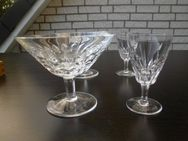 Nachtmann Sylvia? 2 Likörkelche 5,- 2 Sektschalen 6,- Bleikristall Gläser Vintage Retro - Flensburg