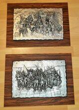 2 x Rembrandt Kopie I .Müller signiert