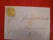 AD-Preußen Briefumschlag 3 Sgr. 02.06.1860,  MI:DE 12,Lot 673
