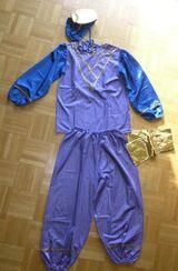 Karnevalskostüm Orientalisches Kostüm Leila (indisch, Sari ähnlich) Gr. 128/140 Fasching
