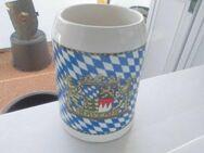 Hannen Alt Bierkrug 1 Liter Bayerischer Rautenkrug Landeswappen 0,5 Liter - Bottrop
