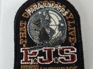 orig Schwarz Parajumpers PJS Patch Aufnäher Mantel Jacke Long Klett Logo Emblem - Nienburg (Weser)