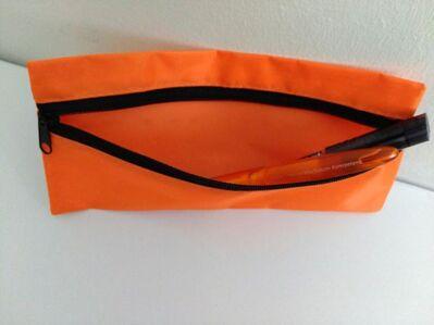 NEU! Tasche für Stifte, Kosmetik, etc., Orange - Nürnberg