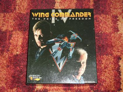 Wing Commander IV - The Price of Freedom   PC - Offenbach (Main) Bieber