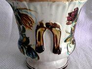 """Blumenumtopf, Keramik, Hersteller """" SC Castelli """" - Niederfischbach"""