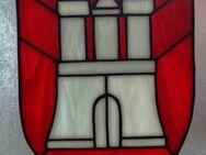 Fensterbild aus Glas, Hamburg
