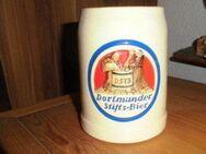 Stifts Bier Brauerei Dortmund Bierkrug Relief Farbig - Bottrop