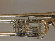 Meister J. Scherzer Profiklasse Konzert - Trompete 8218W-L mit Überblasklappe und 4 Mundrohren, Neu