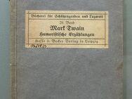 Mark Twain: Humoristische Erzählungen (1914/18), Bücherei für Schützengraben und Lazarett, - Münster