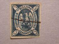 Bolivien-Andean Condor,5 Centavo 1867,  MI:BO 1e,Lot 617