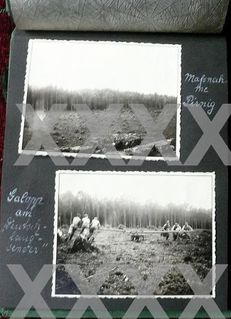 Erinnerungsalbum mit Fotos des Arbeitsdienstes Kleinitz 1934 - Niederfischbach