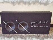 Mac Audio Flatblock Subwoofer Bass Gehäuse Box Lautsprecher - Nürnberg
