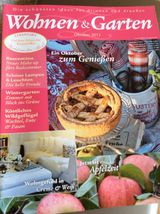 Wohnen &  Garten  Ausgabe Oktober 2012