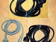 ** Kaltgeräte Kabel 3-polig Netzkabel f. PC-Monitor-Notebook usw. - Nürnberg
