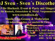 DJ Sven mit Sängerin für Event & Party - Rostock Lütten Klein