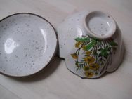 Alte handgemalte Keramikschüssel - Saarbrücken