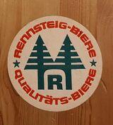 Rennsteig Biere Qualitäts Biere Bierdeckel BD Bierfilz