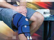 Schnelle Hilfe gegen Schmerzen nach Knie OP durch Kühlen mit Kältetherapiegerät - Berlin