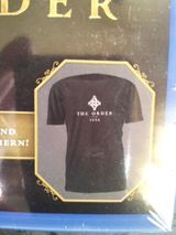 T-Shirt aus Vorbestellbox The Order 1886 Neu