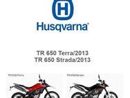 Husqvarna Modelle TR 650 Terra + Strada Ersatzteil Katalog - Bochum