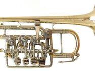 Meister J. Scherzer Piccolotrompete, Mod. 8111-L, Neuware / OVP - Hagenburg