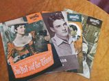 4 Progress Filmprogramm Hefte 1961, 32/61, 46/61, 58/61, 64/61 / DDR Ostalgie