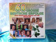5 LPs / LP - Box / 60 große deutsche Erfolge / original Hits von 1950-1978 - Zeuthen