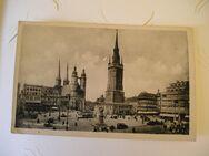 2 Stck. alte Ansichtskarten von Halle/Saale, ungelaufen, in gutem Zustand - Leipzig Ost