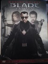 DVD Blade Trinity Steelbook Extended Version