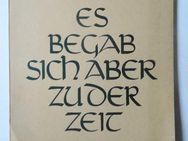 Gerhard Olbrich. Es begab sich aber zu der Zeit. 11 Zeichnungen zur Weihnachtsgeschichte, von 1952 - Königsbach-Stein