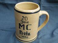 Bierkrug 20 Jahre MC Peitz 1983 500 ml - Kolkwitz