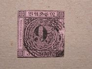 Baden 9 Kreuzer,1851-52,Mi.Nr.4,Lot 347