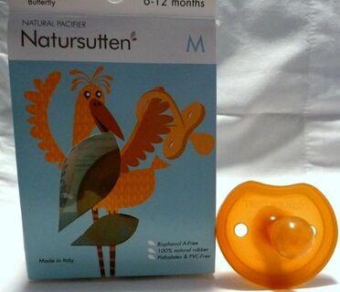Natursutten Butterfly Rounded Schnuller Gr.M, für 6-12 Monate - Niederfischbach