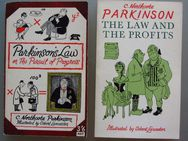2x C.N. Parkinson: The Law & The Profits / Parkinson's Law - Münster