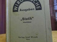 Wirothsche Ausgaben, Statik Hochbau von Ing. W. Esser, Verlag J. Wiroth 1945 - Zeuthen