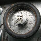 Honda CB 200 Hinterrad
