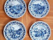 Original 4x Royal Goedewaagen Wandteller Blue Delft 24 cm Holland - Kaufbeuren