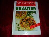 Dr. Oetker Kochbuch Kräuter Moewig Küchenbibliothek - Hirschberg (Thüringen)