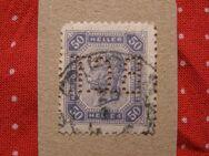 Österreich 50Heller gelocht,1899-08,  Mi:AT 79A,Lot 429
