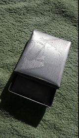 Alte handgemachte Aluminium Dose mit Deckel, 60 ger Jahre, handgefertigt Pferdeliebhaber