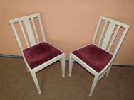 Zwei elegante Stühle im Shabby Chic Design / Holzstühle - Zeuthen