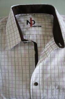 Senioren Hemd mit Klettverschluss. Einfach offnen und schliessen! - München