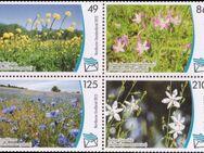 """Nordkurier: MiNr. 148 I - 151 I ZD, 08.04.2013, """"Gefährdete Pflanzenarten"""", Satz, postfrisch - Brandenburg (Havel)"""