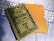 Antikes Tauf - Büchlein im Schuber von 1889 / Buch zur Taufe, Ledereinband