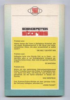Science Fiction-Stories 56 von Lewis Padgett Dreimal Galloway Gallegher - Nürnberg