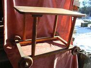 antiker Rollwagen komplett aus Holz, Servicewagen, Beistelltisch - Bad Belzig
