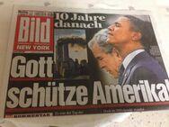 Bild Zeitung vom 12.Sept. 2011-komplette-ungelesene Ausgabe- - Mahlberg