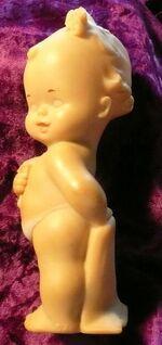 alte Schildkröt Quietsche-Puppe Nr. 52 - Niederfischbach