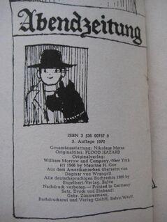"""Spannendes Jugendbuch """"Bulli rettet die Stadt"""" von Gee H. Maurine, Engelbert Verlag, 3. Auflage aus 1970, 91 Seiten, ISBN: 3536007570, zum Schutz für weiteren Gebrauch schon eingebunden, sehr guter Zustand, 4,- € - Unterleinleiter"""